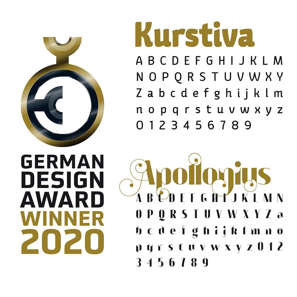 Typogama Winner German Design Awards