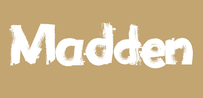 Madden typeface - Designed by Michael Parson - Typogama type foundry