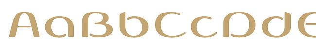Cobono typeface - Designed by Michael Parson - Typogama type foundry