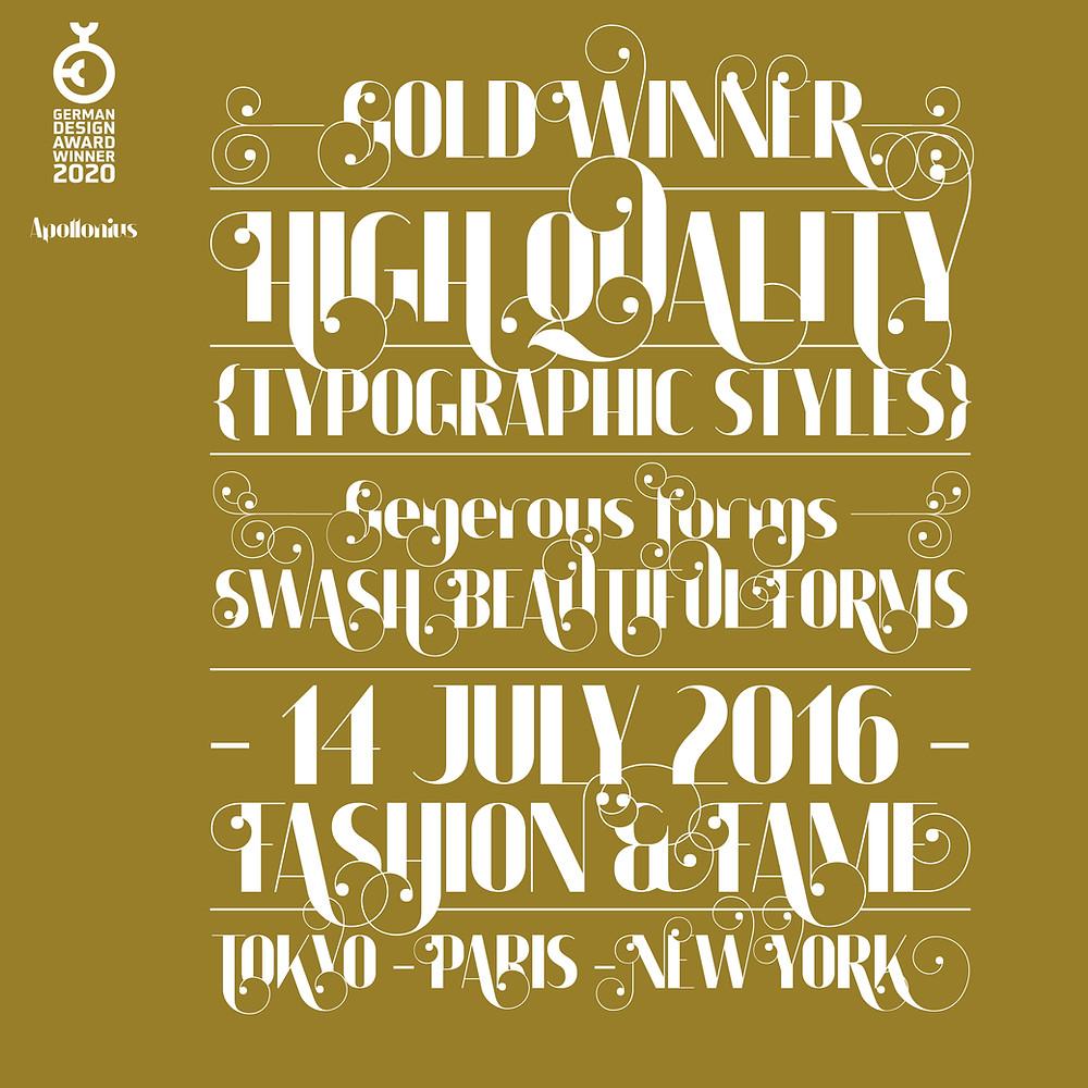 Apollonius Gold Award - German Design Awards