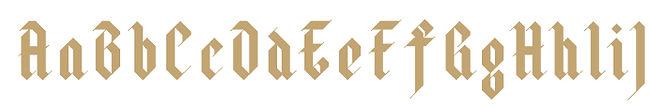 Halja typeface - Designed by Michael Parson - Typogama type foundry