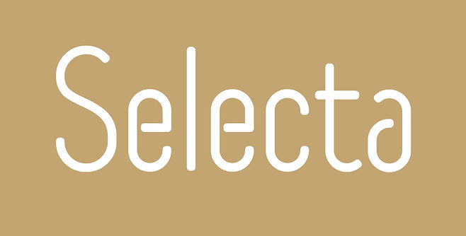 Selecta typeface - Designed by Michael Parson - Typogama type foundry