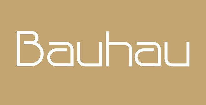 Bauhau typeface - Designed by Michael Parson - Typogama type foundry