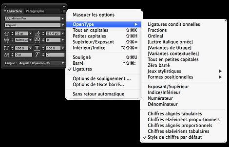 Adobe® Indesign CC Interface