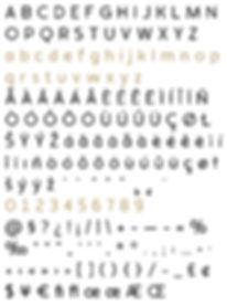 Auro typeface - Designed by Michael Parson - Typogama type foundry