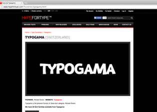 News: HypeforType distribution