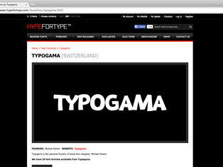 News: HypeforType distribution
