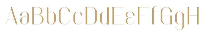 Faddish typeface - Designed by Michael Parson - Typogama type foundry