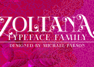 New free font release: Zoltana