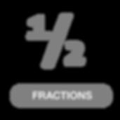 Opentype fractions