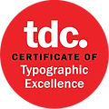TDC61 winner (Type Directors Club Type design contest)