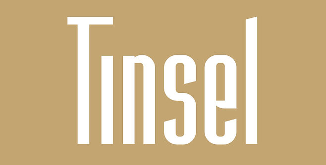 Tinsel typeface - Designed by Michael Parson - Typogama type foundry