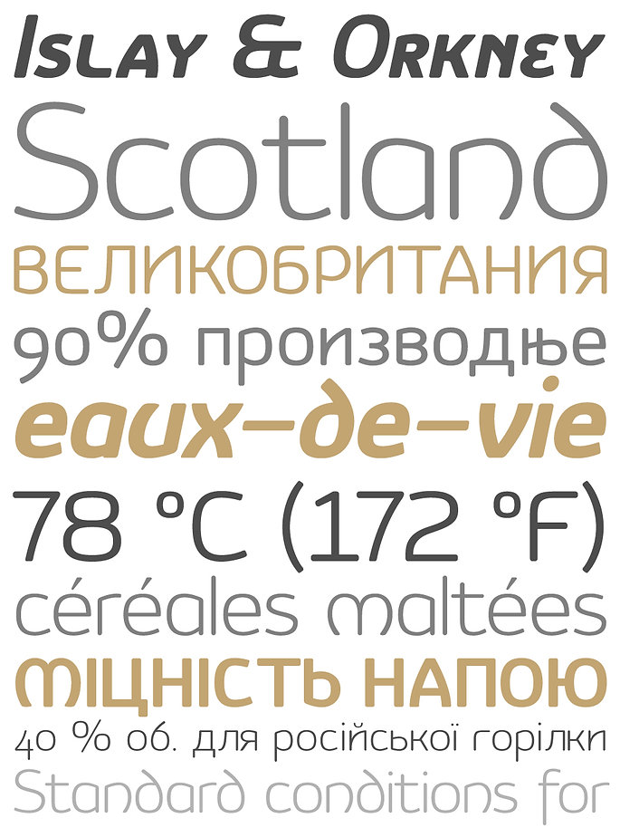 Vulgat typeface - Designed by Michael Parson - Typogama type foundry