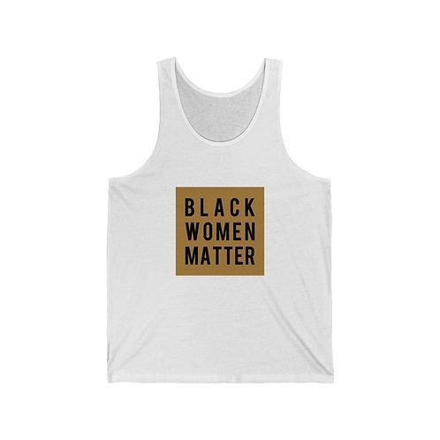 Black Women Matter Unisex Jersey Tank