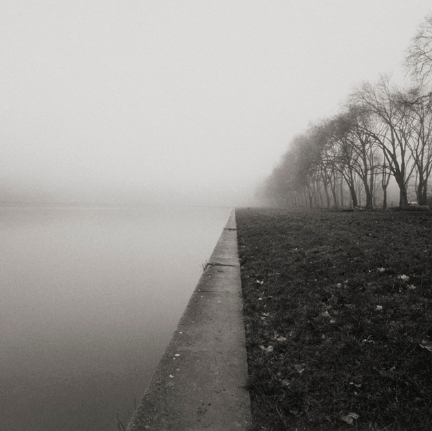 Foggy Morning- versailles