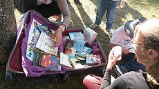 association Imagine malle aux livres