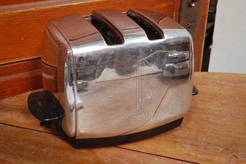 toaster, chrome, retro, decor, prop, rental