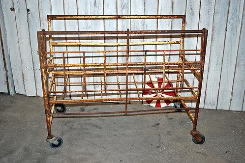 industrial cart, metal, gifts, wedding, rental