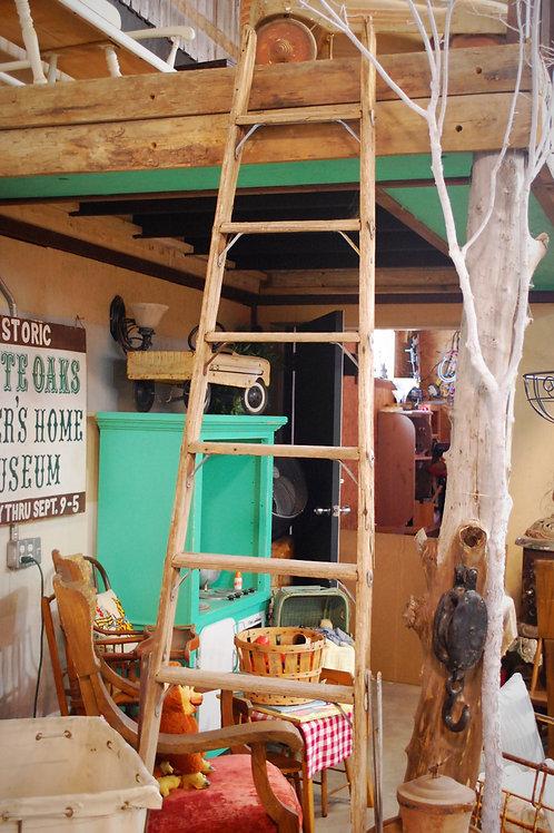 wood ladder, A-frame step side, decor, wedding, rental