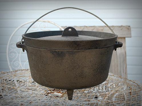cast iron, pot, serving, decorative