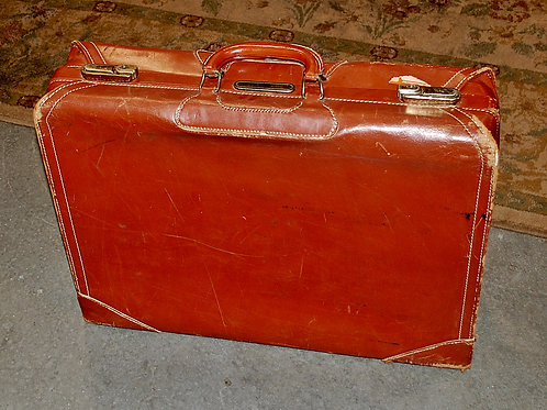 Lg.Red Suitcase
