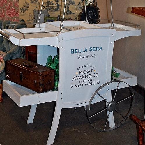 """Marrisa"" Wine Cart"