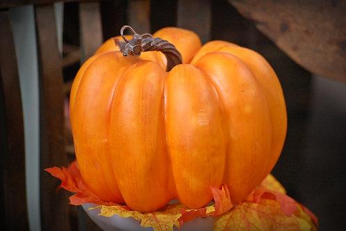 pumpkin, imitation, decorative, fall, rental