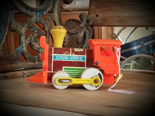 chug chug fisher price train toy child decor party event  baby shower rental