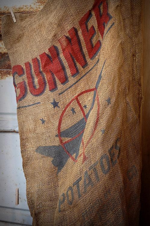 Burlap sack - large