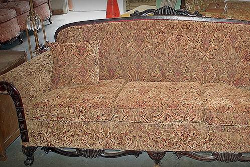 """Sophia"" Paisley Couch"