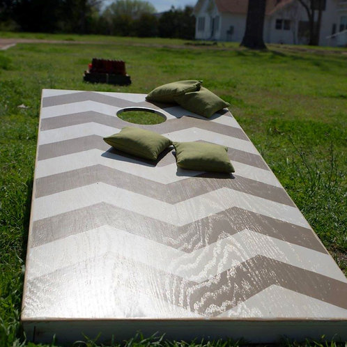 cornhole beanbag toss yard game outdoor fun entertainment party event wedding