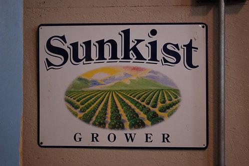 sunkist sign, display, decor