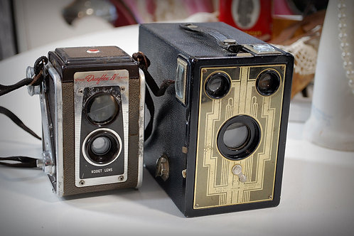 vintage, camera, decor, table top, rental