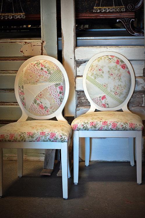 """Elizabeth"" White Dining Chair"