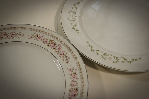 platter, china, serving, party, rental, event, dessert, display