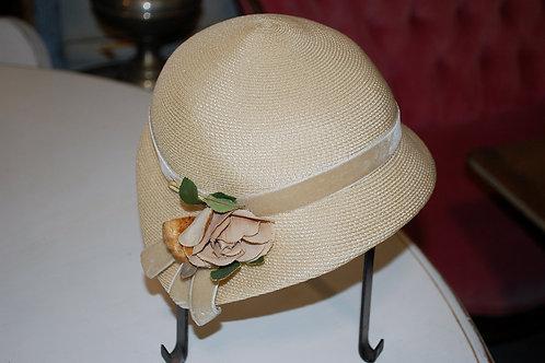 Cream 1920's Hat