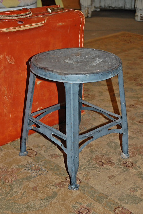stool seat child metal grey decor cake display baby shower party event rental