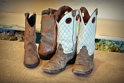 Cowboy boots - assorted