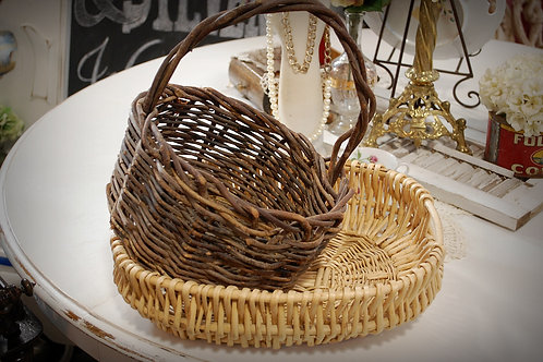 baskets, decor, serving