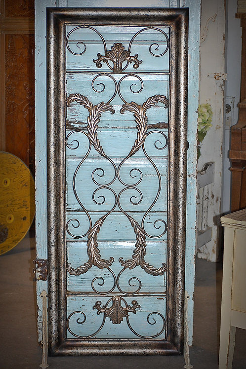 metal, wall art, picture, decor, staging