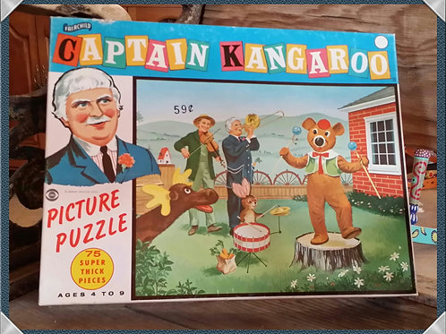 puzzle captain kangaroo child decor party event baby shower photography rental