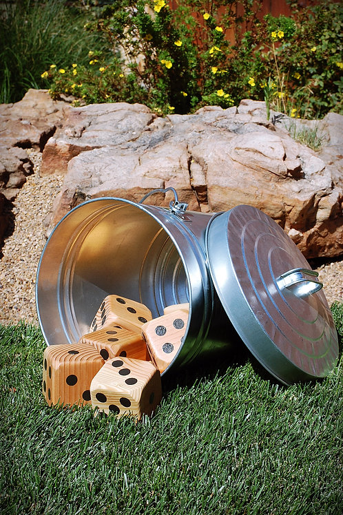 giant yard dice fun outdoor game party event wedding decor