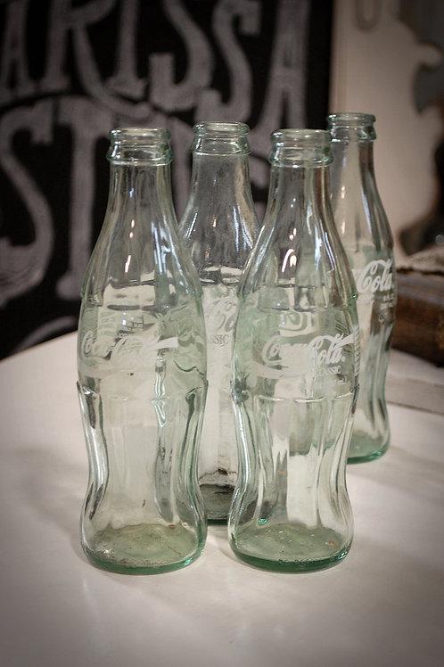 coca cola, bottle, soda, decor, wedding, table top