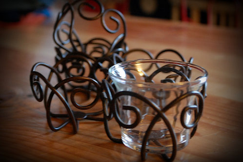 metal, votive, candle, covers, decor, table top, rental