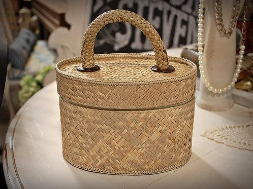 Basket Weave Purse