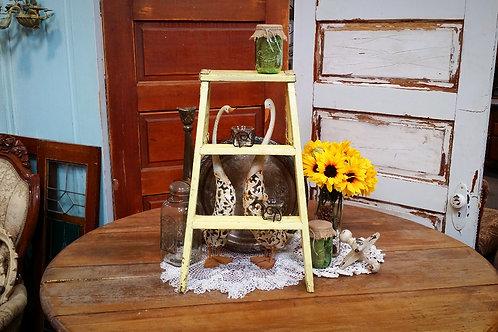 ladder, wood, decor, table top, wedding, rental