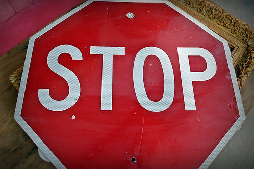 stop sign, road, display, decor, theme, party