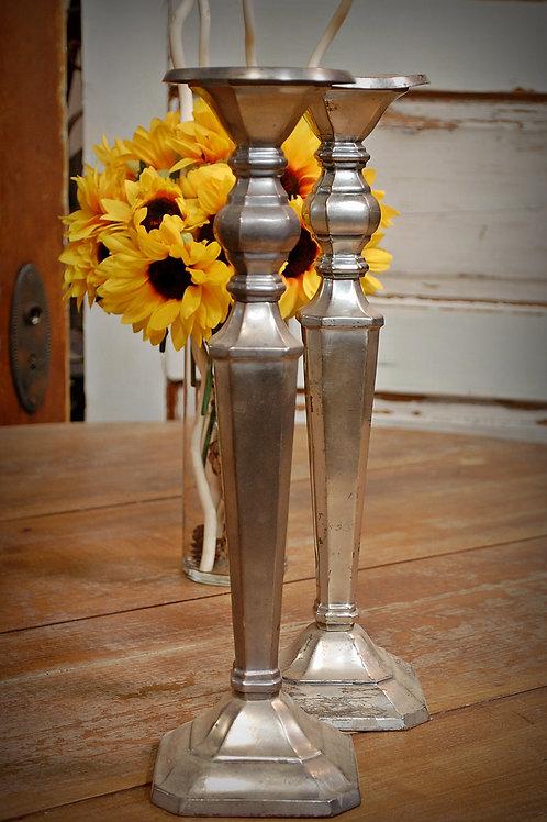 silver, candlestick, table top, center piece, wedding, rental