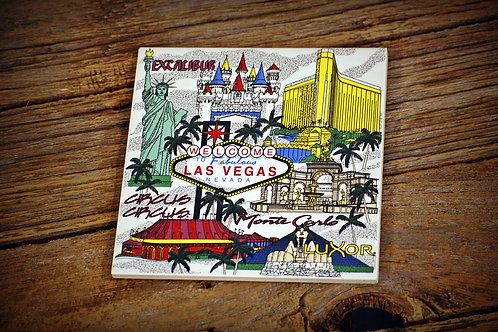 Las Vegas, tile, sign, decor, center piece, party, event, rental