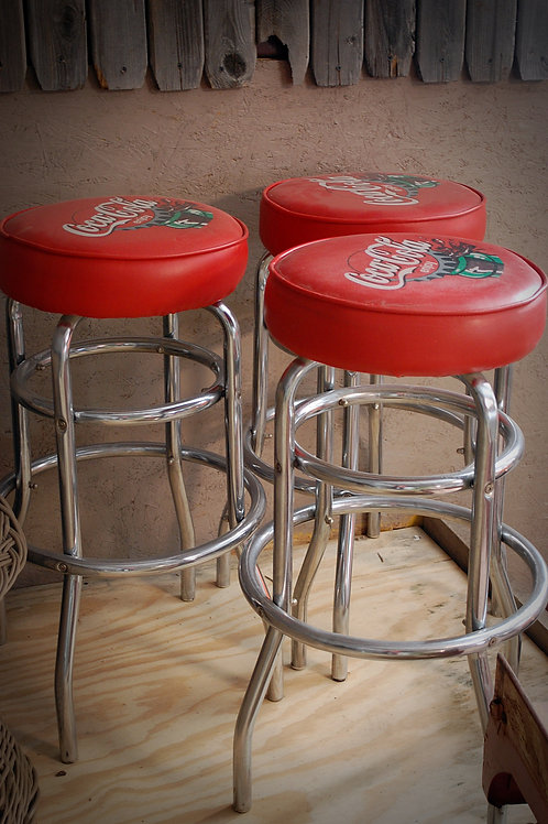 """Ray"" Coca Cola Bar Stools"